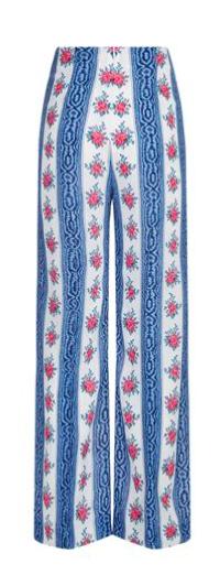Wide leg trousers, £675, Emilia Wickstead