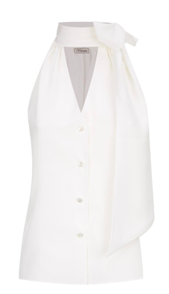 Plage Blouse, £276.50, Temperley London