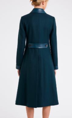 Contrast Coat back