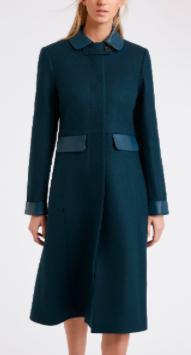 Contrast Coat front