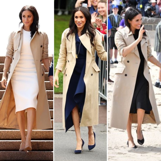 Meghan trench coat