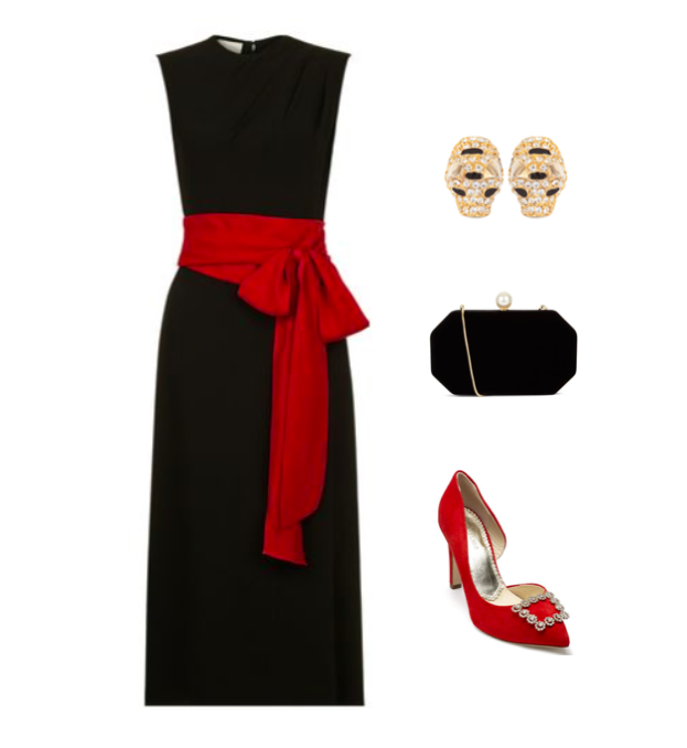 red sash dress.png
