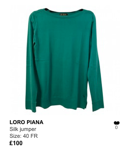 Loro Piana green jumper .png