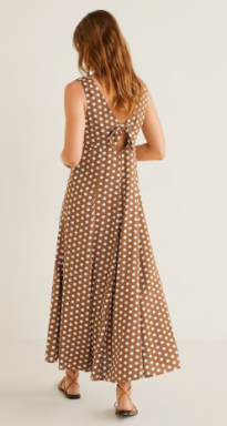 Mango dotty dress 2