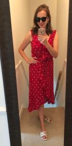 Polk dot dress